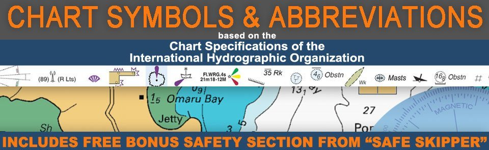 Nautical chart symbols