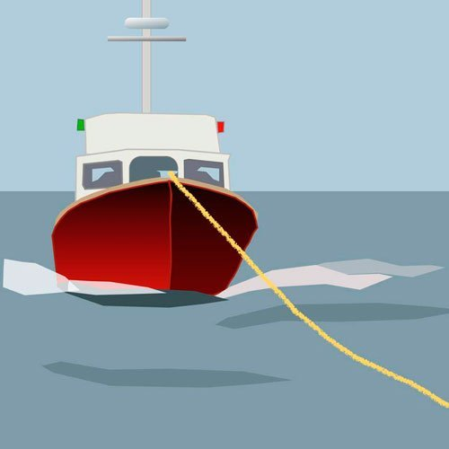 Getting a tow for your sail or power boat at sea or on inland waterways