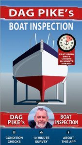 Dag Pike's Boat Inspection - Safe Skipper marine insurance