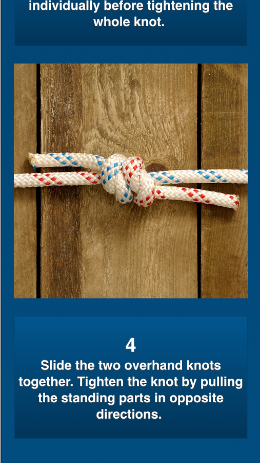 The Knot Bible app by Safe Skipper - 50 most useful knots
