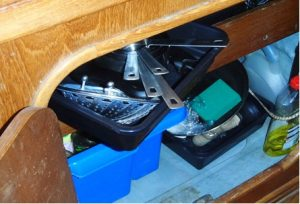 Cupboard - Boat improvement advice from Safe Skipper, discount boat insurance from Towergate Boat Insurance