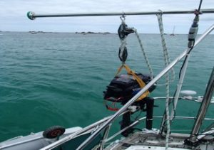Gallows on Kamish - Boat improvement advice from Safe Skipper, discount boat insurance from Towergate Boat Insurance
