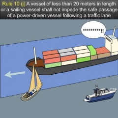 NAVIGATION RULES AND REGULATIONS for U S  Waterways, Great