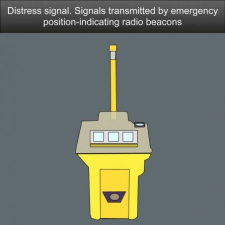 Mayday distress call. A distress alert by means of emergency position-indicating radio beacons US Inland Navigation Rules #safeskipper #boating #sailing #yacht #motorboat #apps