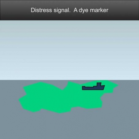 Maritime distress signal, a dye marker - US Inland Navigation Rules #safeskipper #boating #sailing #yacht #motorboat #apps
