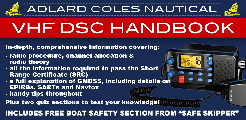 Reeds VHF DSC Radio Handbook - Adlard Coles Nautical