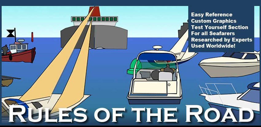 Boating Rules of the Road - Boat Insurance from SafeSkipper with Towergate Insurance