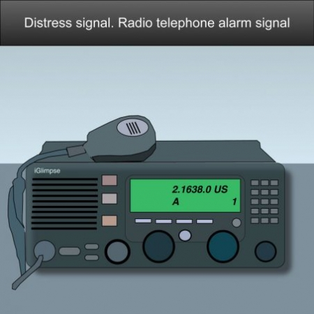 Mayday distress call. A distress alert by means of digital selective calling (DSC) US Inland Navigation Rules #safeskipper #boating #sailing #yacht #motorboat #apps