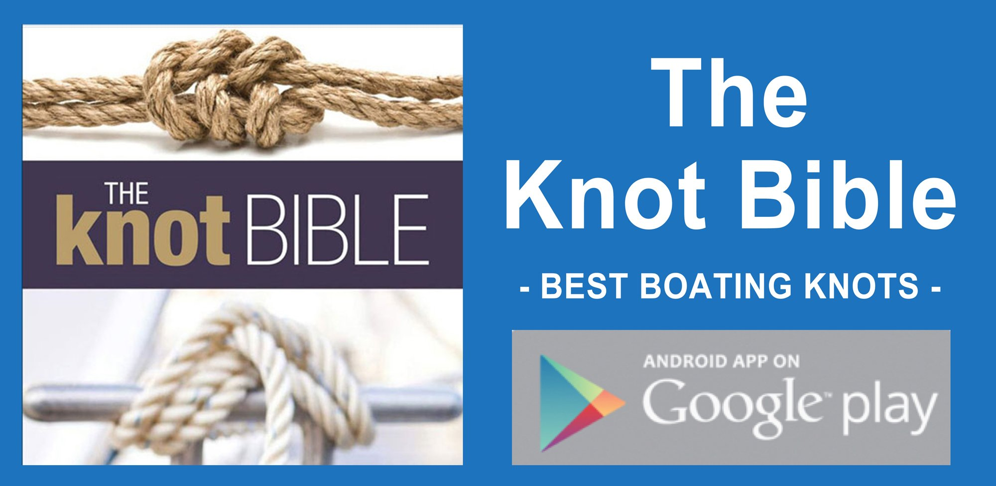 The Knot Bible app - best boating apps